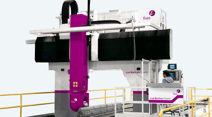 @Line Machines Gicamill-PROPRE OKvbhj-FIVES Fives Metal Cutting-Composites