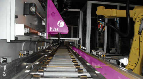 Friction Roller Conveyors Conveying Fives In Automation