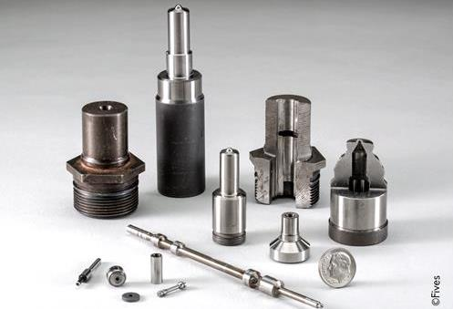 Fuel Injection Work Pieces Small 3-FIVES Fives in Grinding | Ultra Precision