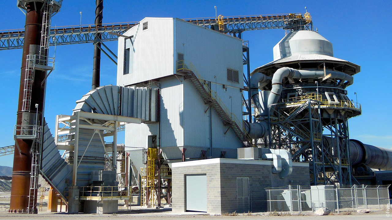 Lime dust Collector Bag filter low sulfur lime preheater scrubbing fgs desulfurization nox control air pollution control lime kiln filtration particulates removal emission control flue gas cleaning dedusting dust control-FIVES
