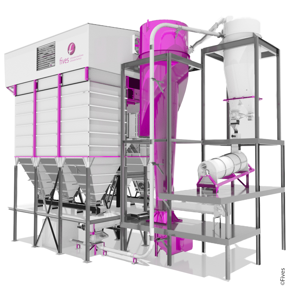dust-collector bag-filter baghouse dry-scrubber fgd desulfurization NOx-control hot-filtration particulates-removal emission flue-gas-cleaning Chlorines Acid-gas SO3 SO2 HCl Heavy-metals raw-mill grinding cement-cement 4-FIVES
