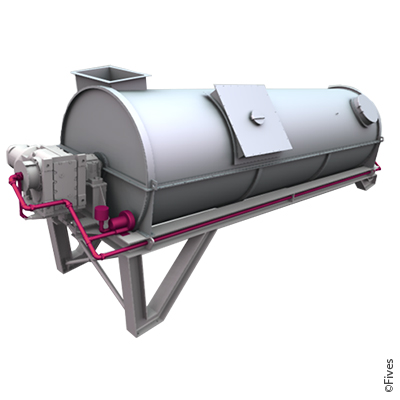 scrubber Reactor-bag-filter baghouse fgd desulfurization NOx-control Chlorine Acid gas heavy-metals particulates-removal emission flue-gas-cleaning Waste-to-energy Lime-Injection-reagent Drum icon-FIVES