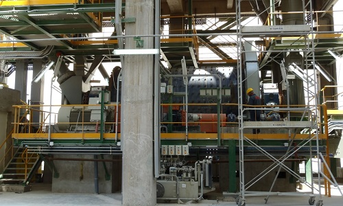 Cement Plant Grinding : Grinding plant cement fives in minerals