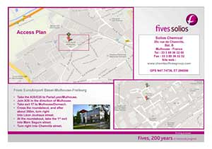 Fives Solios Chemical Access-plan-FIVES Fives in Chemtec