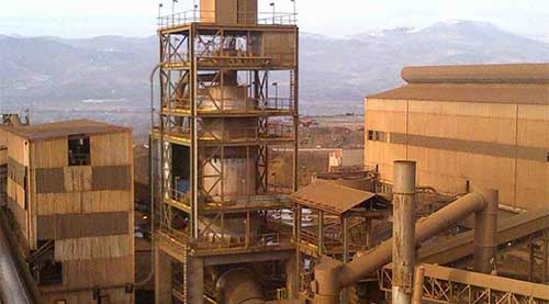 COMBUSTION PILLARD FENI Commissioning-FIVES Fives Cement-Minerals