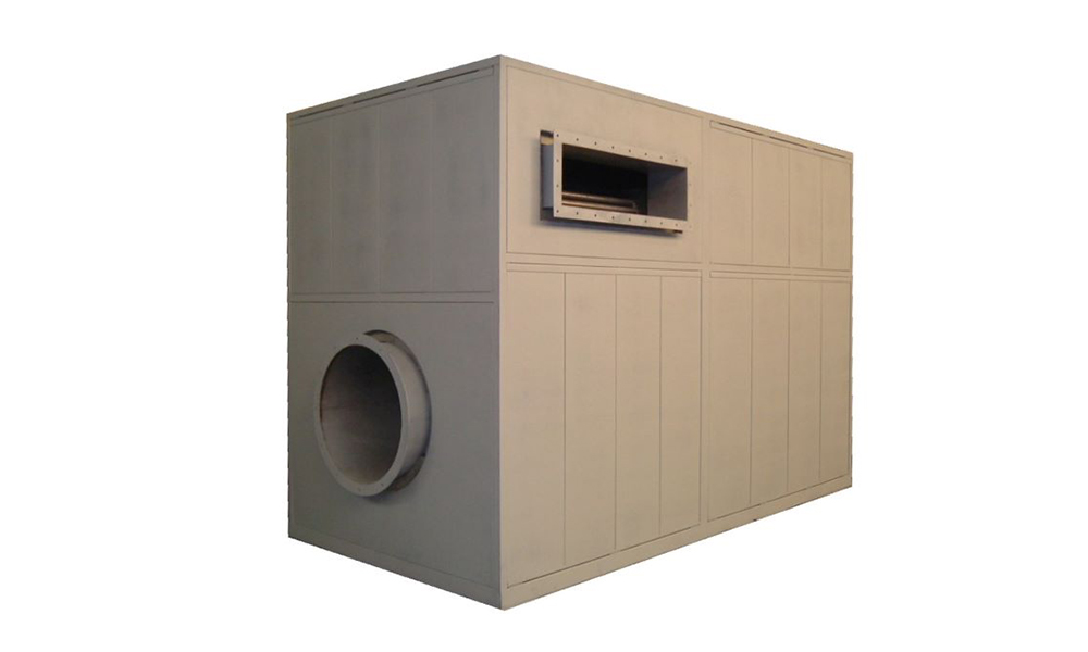 ITAS Boxed style indirect hot air generator Fives-FIVES