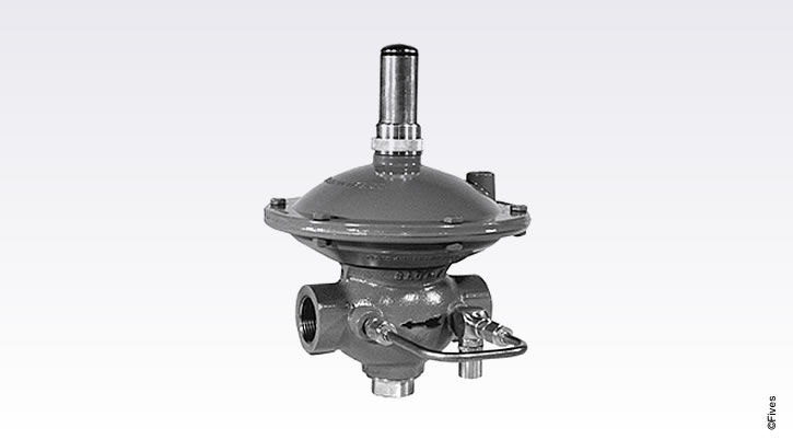 North American Ratio Regulator with By-Pass Kit 7216-FIVES
