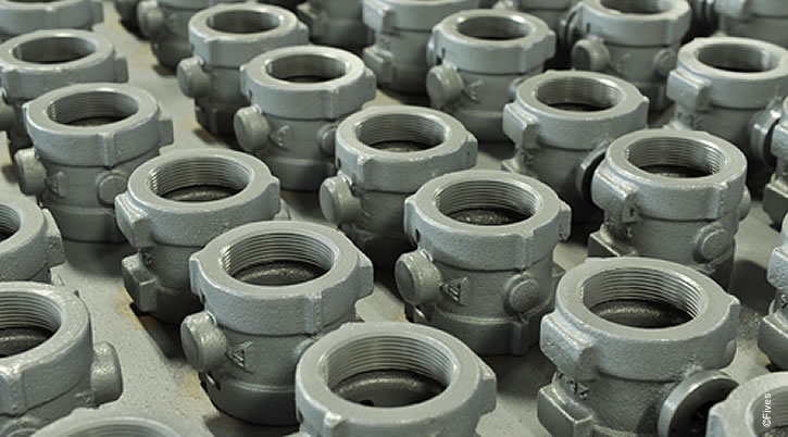 North American Series 1123 Butterfly Valves in Assembly-FIVES