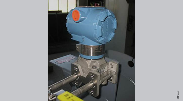 North American Series 8246 Differential Pressure Transmitter-FIVES