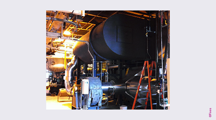 North American Series 9500 Low NOx Indirect Fired HGG-FIVES