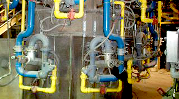 North American Copper Shaft Furnace with Premix Burners-FIVES