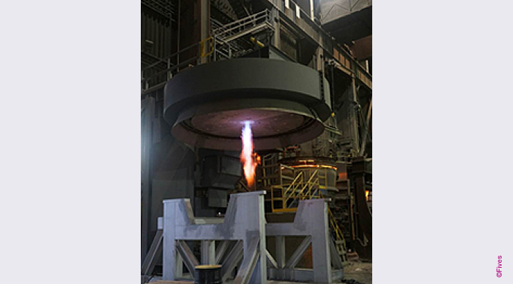 North American Ladle Refractory Preheat and Dryout Station-FIVES