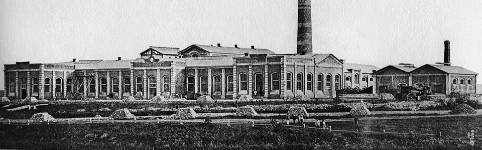 1876 – Mariinsky sugar plant built by the Compagnie de Fives-Lille (Ukraine)