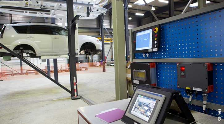 Usine digitale automation 3-FIVES Fives Group