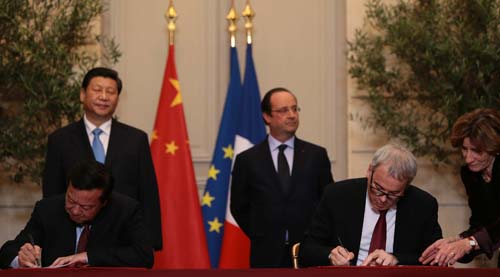 26 Mars 2014 Elysée Signature WISCO Fives Hollande-FIVES Fives Group
