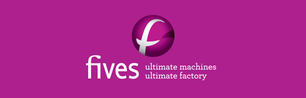 Fives logo tagline home-FIVES Fives Group