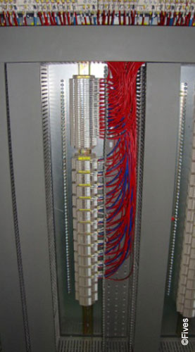 Neat and beautiful of wiring