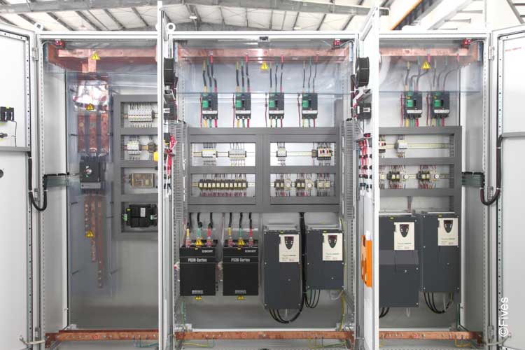 Fives Drive cabinets 2-FIVES Fives in Electrical & automation cabinets
