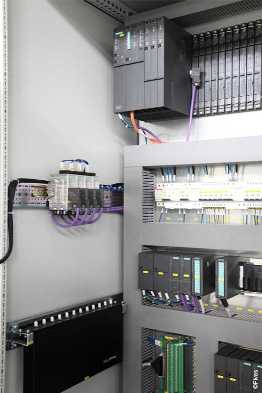 Fives PLC control cabinets 1-FIVES Fives in Electrical & automation cabinets