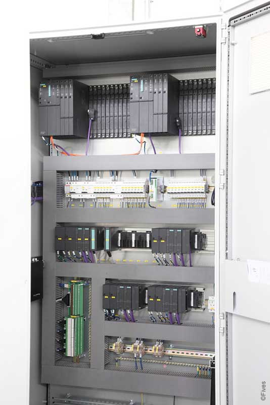 Fives PLC control cabinets 2-FIVES Fives in Electrical & automation cabinets