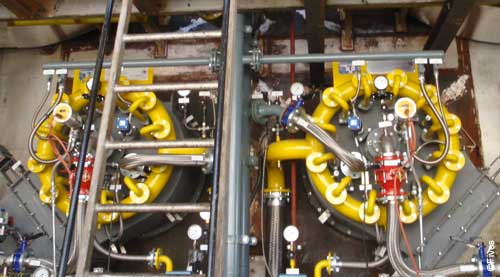 Fives Combustion Agrana Tulln boiler-FIVES