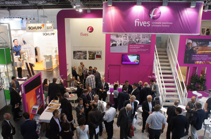 Thermprocess Fives stand 2015-FIVES