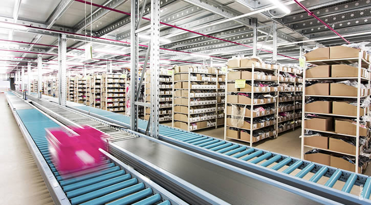 Fives conveyors are fast, quiet, require low maintenance and make load handling easy and efficient
