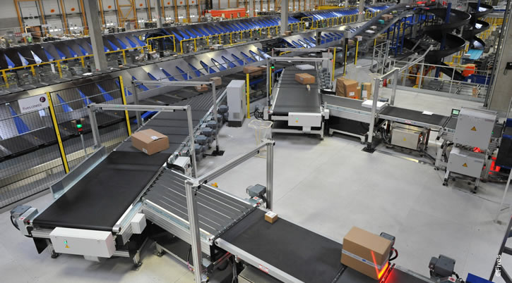 Intralogistics Solutions SortationSystems 01-FIVES Fives in Intralogistics