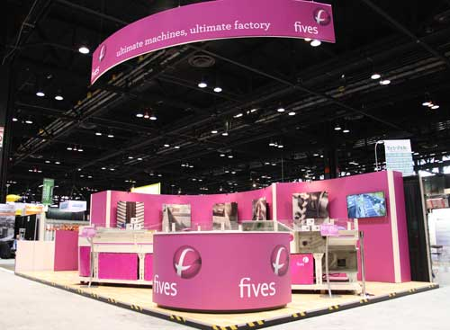 PROMAT 2015-FIVES Fives in Intralogistics