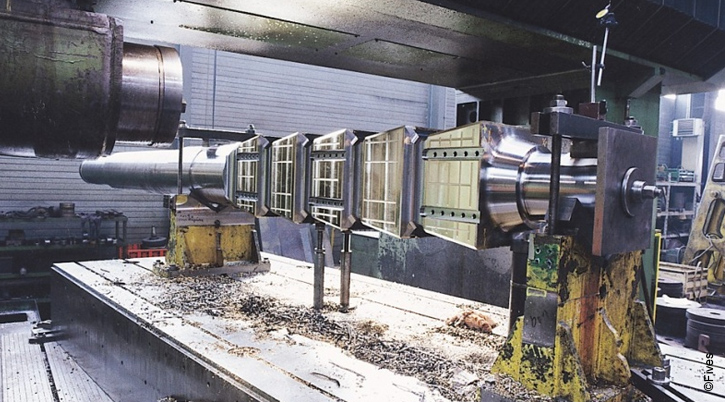 pyramid shaft chamfering-FIVES Fives Manufacturing