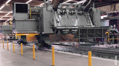 Fives metal cutting composites Cincinnati WR Profiler-Dual Gantry-FIVES Fives Metal Cutting-Composites