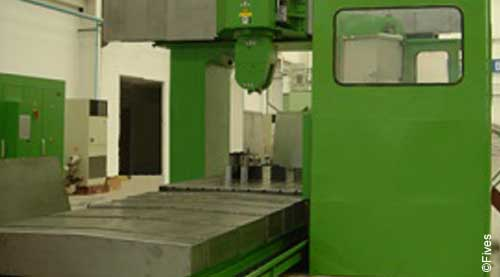 Fives metal cutting composites MODUMILL Ti 3-FIVES Fives Metal Cutting-Composites