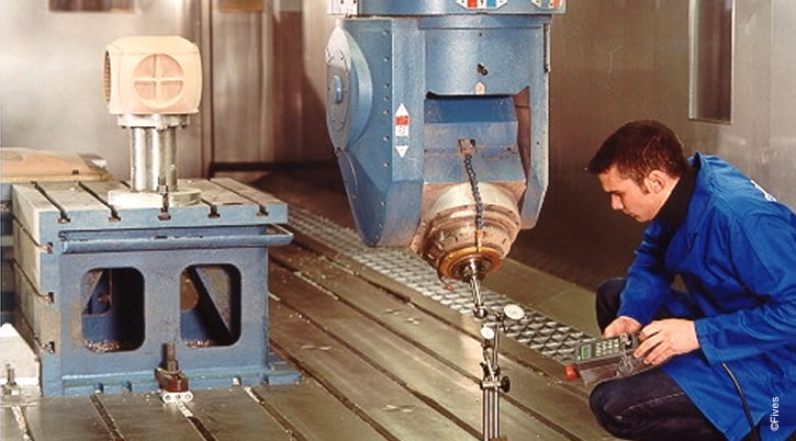 Corrective Maintenance-FIVES Fives Metal Cutting-Composites