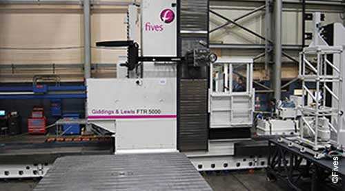 Fives metal cutting composites Giddings Floortype FTR5000 3-FIVES Fives Metal Cutting-Composites