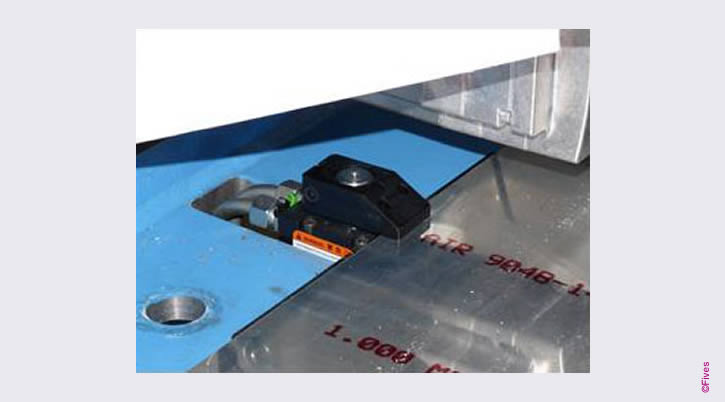 DHP Automatic clamping system-FIVES Fives Metal Cutting-Composites