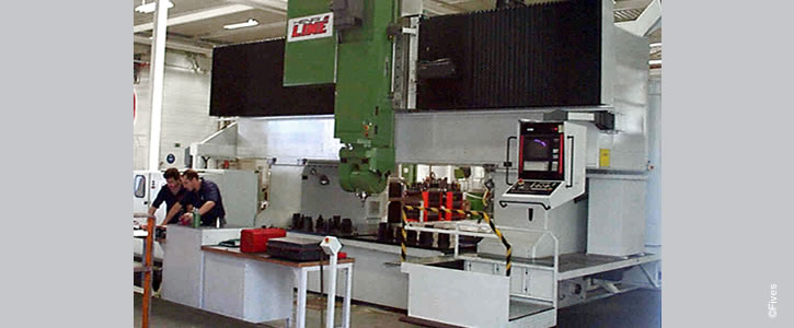 Line Machines Gicamill LS 4 725 300-FIVES Fives Metal Cutting-Composites