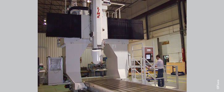 Line Machines GicamillAéro 2 725 300-FIVES Fives Metal Cutting-Composites
