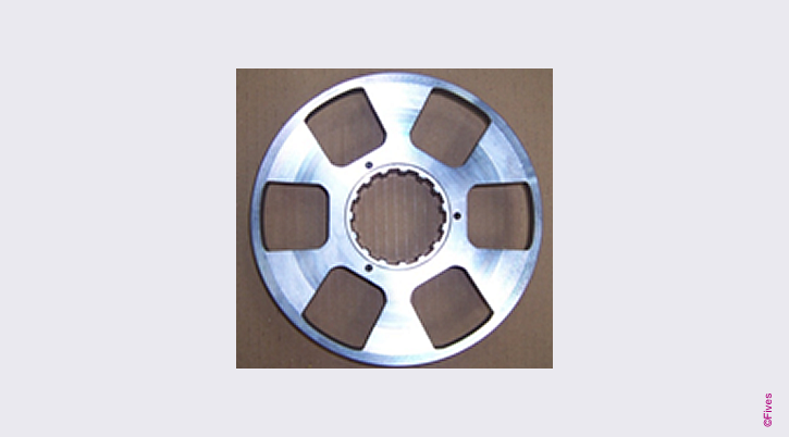 Laser cut clutch disk-FIVES Fives Metal Cutting-Composites