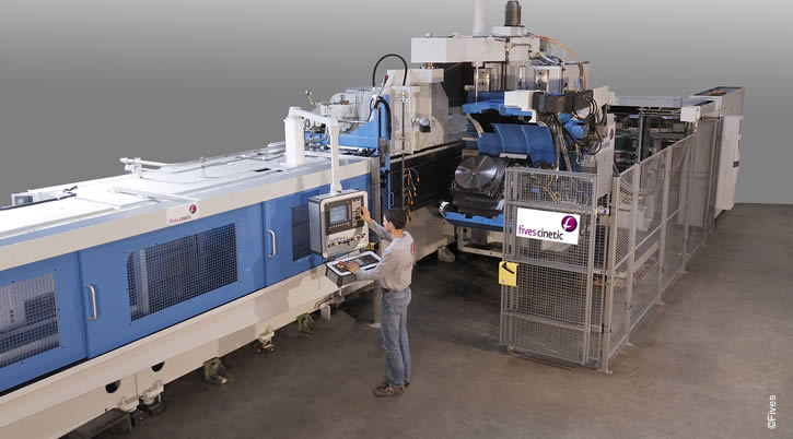 HP Broaching machine-FIVES Fives Metal Cutting-Composites