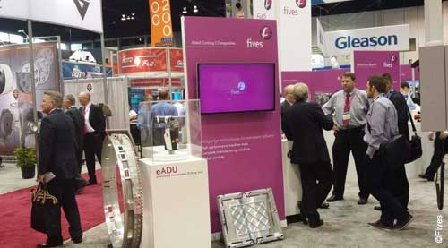 Fives Giddings Lewis IMTS 2014 news-FIVES Fives Metal Cutting-Composites