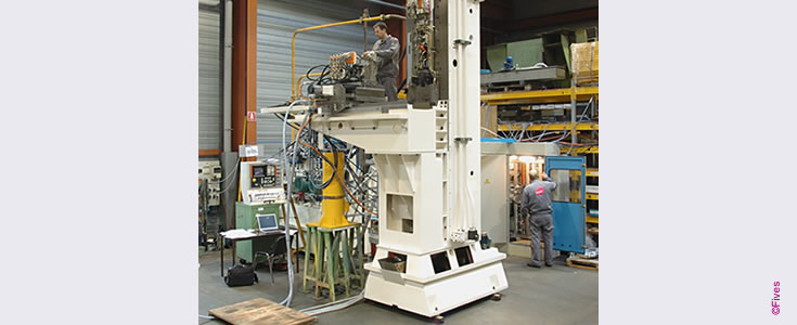 Vertical broaching machine-FIVES Fives Metal Cutting-Composites