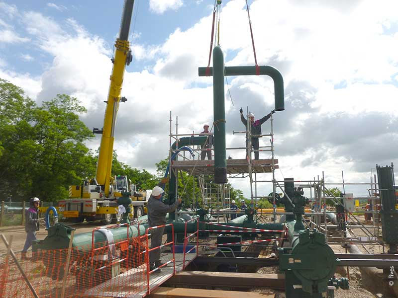 CHANTIER-GAZ-FIVES-NORDON-FIVES Fives in Piping Solutions