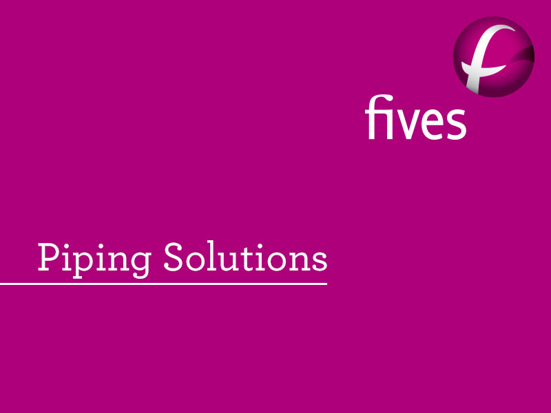 Piping Solutions et logo-FIVES Fives in Piping Solutions