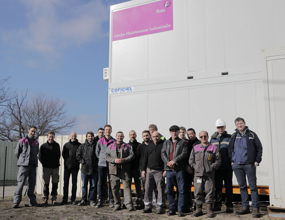 inauguration base vie Fives Nordon-FIVES Fives in Piping Solutions