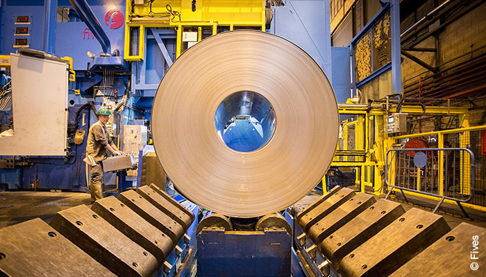 Fives revamped cold rolling mill at Aperam Gueugnon