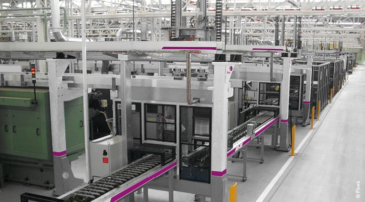 Web automation conveyors-RETOUCHE Web-FIVES