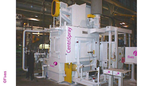 Fives CentriSpray P1 pallet-FIVES