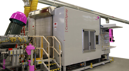 Fives Cinetic Corp Washers CentriSpray Robotic Robotic2-FIVES