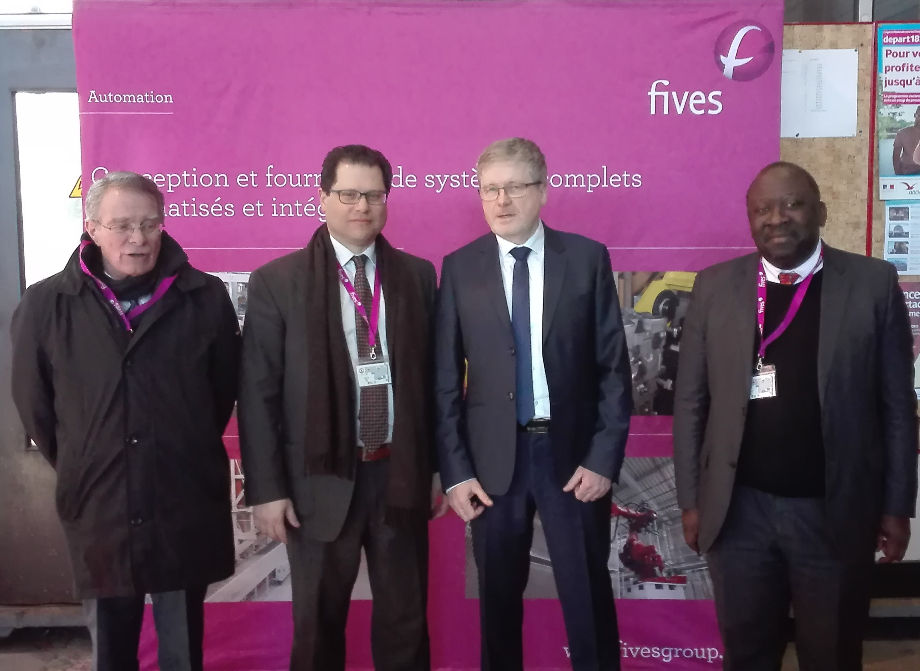 The new regional Prefet visited Fives