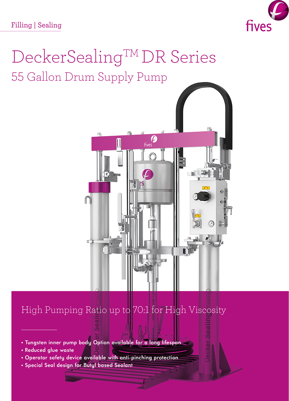 Download-FIVES SEALING 55GallonDrumSupplyPump-FIVES